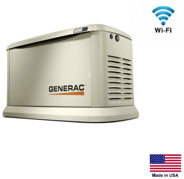 STANDBY GENERATOR - Off Grid Applications - 15 kW - 240V - 1 Ph - NG