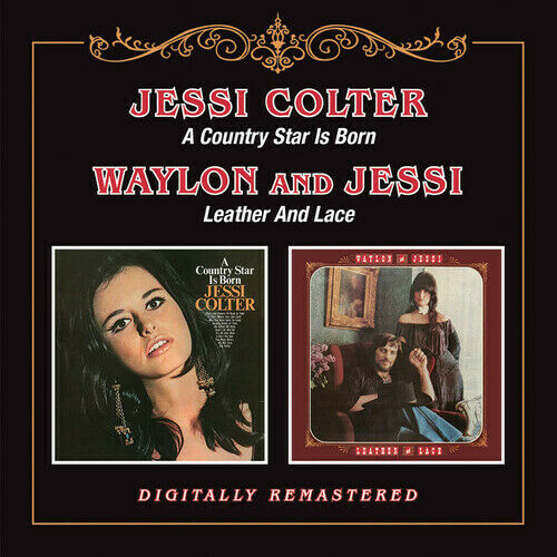 Jessi Colter Country Star Is Born Leather amp; Lace New CD UK Import $16.10