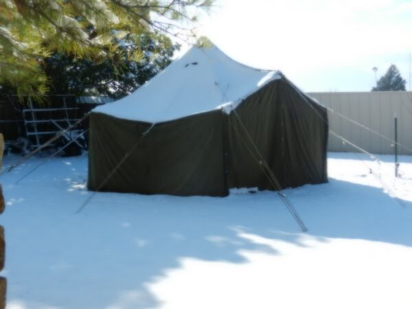 New Old stock SGP Canvas Military Tent