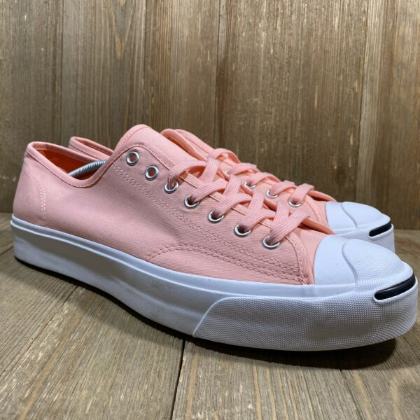 Converse x Jack Purcell Mens Low Ox Sneakers  Size 12  NWOB  164108C  Coral