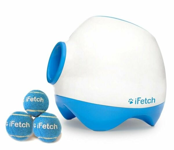 IFETCH TOO AUTOMATIC BALL LAUNCHER FOR LARGE DOGS-STANDARD TENNIS BALLS-NEW