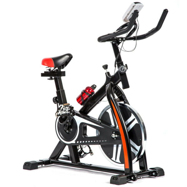 Black Bicycle Cycling Fitness Exercise Stationary Bike Cardio Home Indoor 508 $179.99