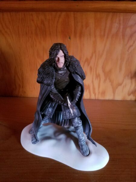 HBO Game Of Thrones John Snow 8quot; Dark Horse Figure Deluxe Loose 2013