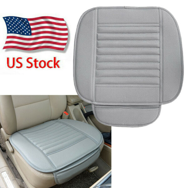 Car Front Seat Cover Protector Cushion PU Leather Mat Auto Chair Pad Accessories
