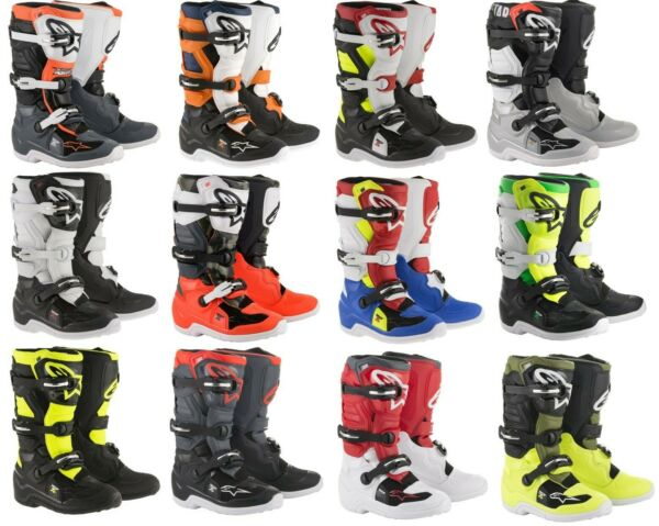 Youth Alpinestars Tech 7S Offroad MX Boots Motocross Dirt Bike Riding $199.95