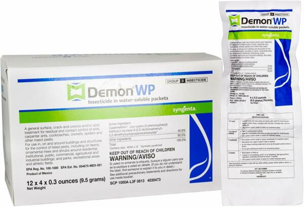 Syngenta	Demon WP Makes 2-4 Gallons Insecticide  Cyper  Envelope  Pail