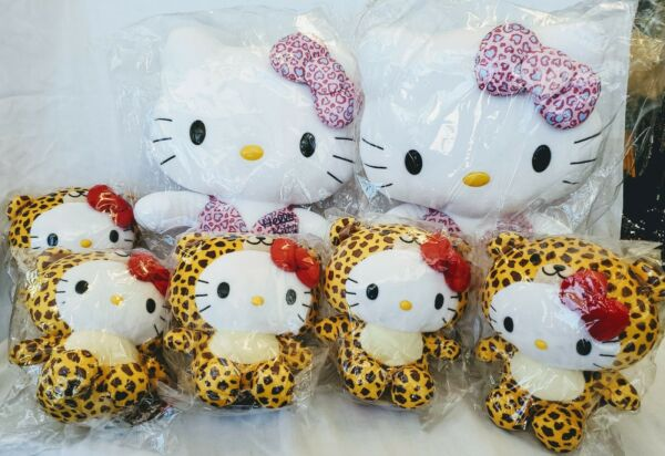 Hello Kitty Sanrio Plush Lot of SEVEN. 2 18quot; tall 2016 and 5 8quot;tall 2015