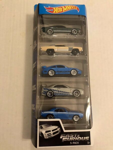 2020 Hot Wheels 5 Pack