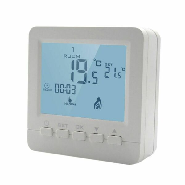 Gas Boiler Heating Temperature Controller Programmable Thermostat Wall Mounted Y $18.16