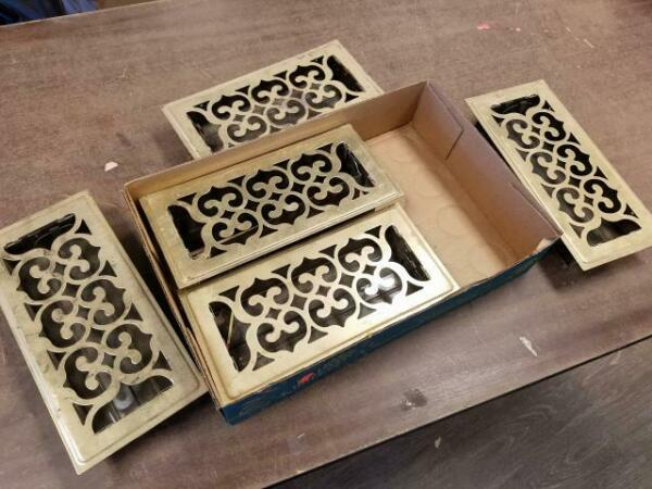 Lot of 5 Decor Grates 4