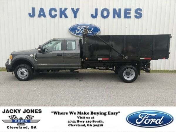 2017 Ford F-550 XL Dump 2017 Ford Super Duty F-550 DRW Magnetic Metallic with 14771 Miles available now