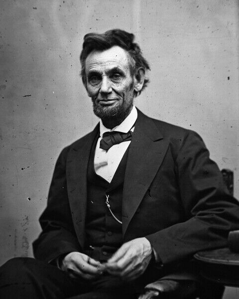 New Civil War Photo: Last Photo of President Abraham Lincoln 1865 - 6 Sizes!
