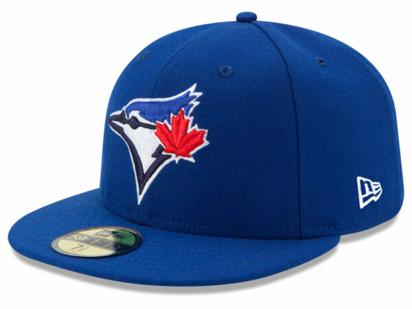 New Era Toronto Blue Jays GAME 59Fifty Fitted Hat Royal Blue MLB Cap