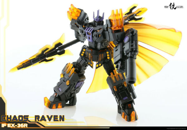 IN HAND Iron Factory IF EX 36R Chaos Raven Action Figure
