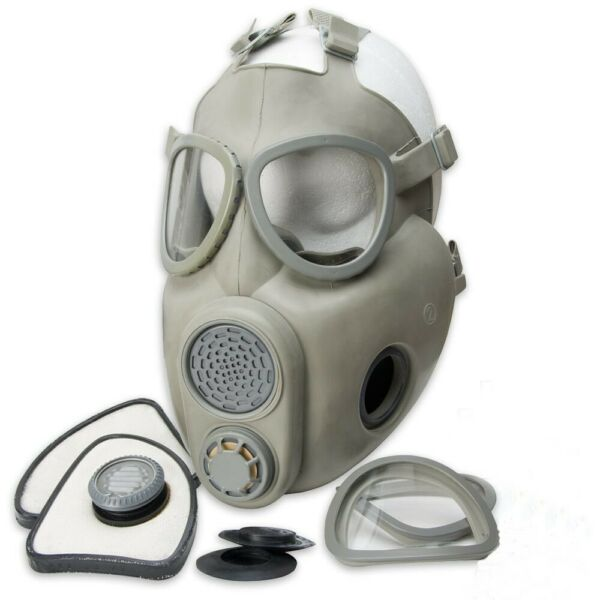 Premium Gas Mask Full Face Projective NBC Respirator Czech Military M10