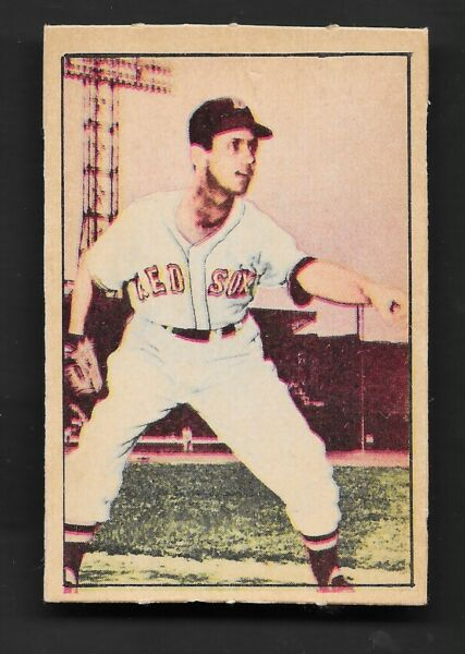1952 Berk Ross Parade of Champions Mel Parnell Near Mint Red Sox