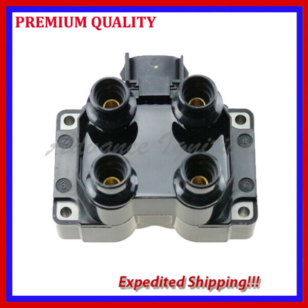 1PC IGNITION COIL UFD300 FOR 1991 1992 1993 1994 1995 Mercury Tracer L4 1.9L