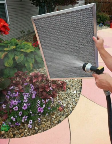 20x25x1 A Camp;FURNACE ELECTROSTATIC AIR FILTER WASHABLE PERMANENT LASTS FOREVER $54.99