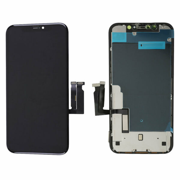 LCD Display Touch Screen Digitizer AssemblyBack Plate Replacement for iPhone XR