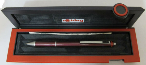 Rotring Trio Coral Red Blue Pen Red Pen 0.7mm Pencil New In Box 502706