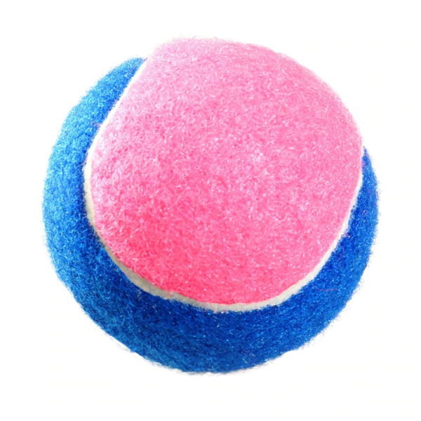 Pet Dog Squeaker Ball Toy Play Sound Dog Bite-resistant Molar Tennis Balls for s $9.04