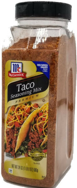 McCormick Original Taco Seasoning 24 Oz FREE EXPEDITED SHIPPING $13.74