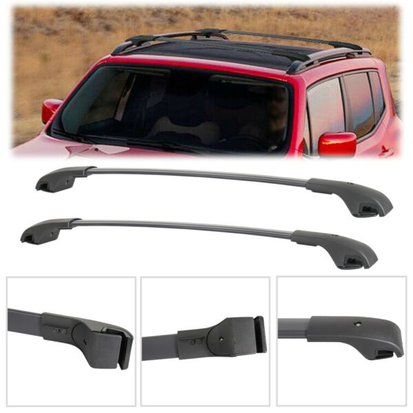 2PCS Luggage Roof Rack Cross Bar Crossbars For 2015 2019 Jeep Renegade $57.94