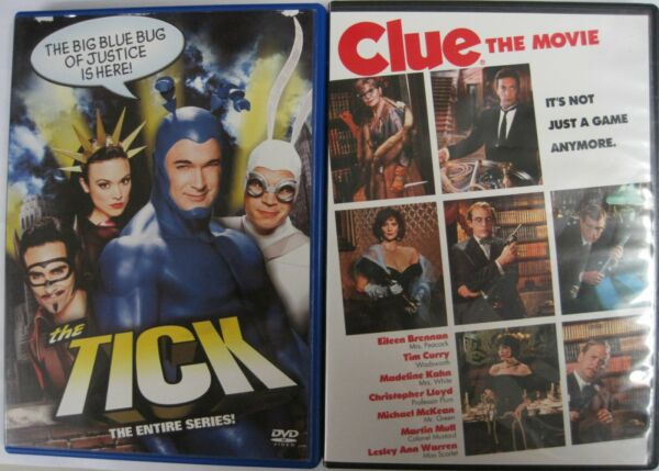 The Tick: The Entire Series - Clue: The Movie (DVD)