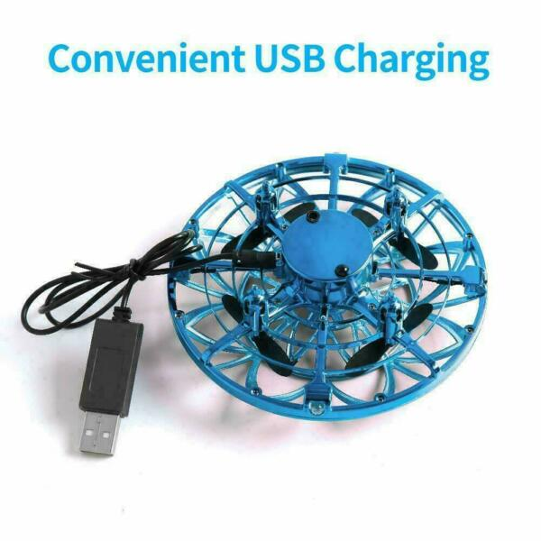 360° Smart Mini Hand-Control Drone Helicopter Quadcopter Flying Toys BLUE