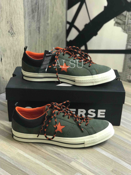 Sneakers Men's Converse One Star Suede Utility Green Low Top 162544C