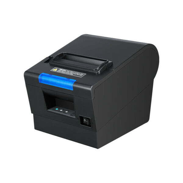 US 3'18 80mm USB Serial Ethernet Receipt POS Thermal Printer with Auto Cutter