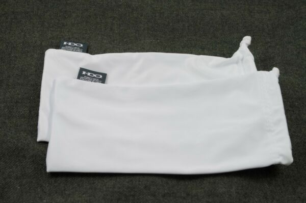 OAKLEY 2 PACK LARGE WHITE MICRO FIBER CLOTH SUNGLASSES CLEANING STORAGE BAGS $10.79