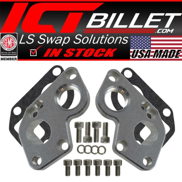 LS Electric Water Pump Adapter Plates Converts BBC Pump to LS Engine $49.99