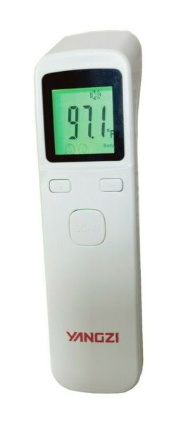 Digital Infrared Non-Contact Forehead Temperature Thermometer - Fast US Shipping