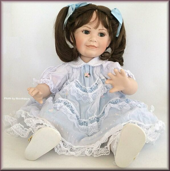 Marie Osmond Dolls Baby Amy Toddler Doll Porcelain 12 Inch Free U.S. Shipping