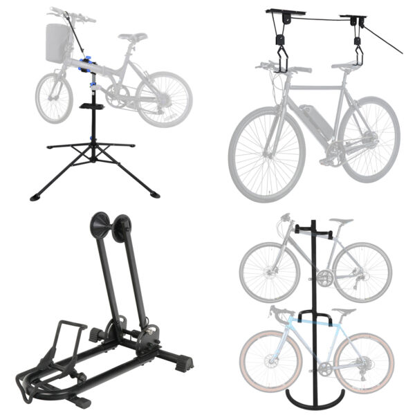 Multiple Choices Bike Stand Cycle Gravity Bicycle Rack Storage Adjustable Height $59.95