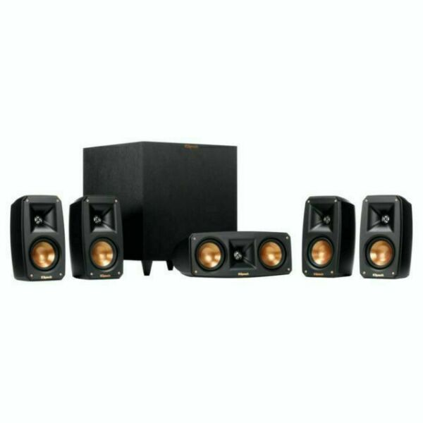 Klipsch Reference Home Theater Pack 5.1 Surround System Brand New  MSRP $999