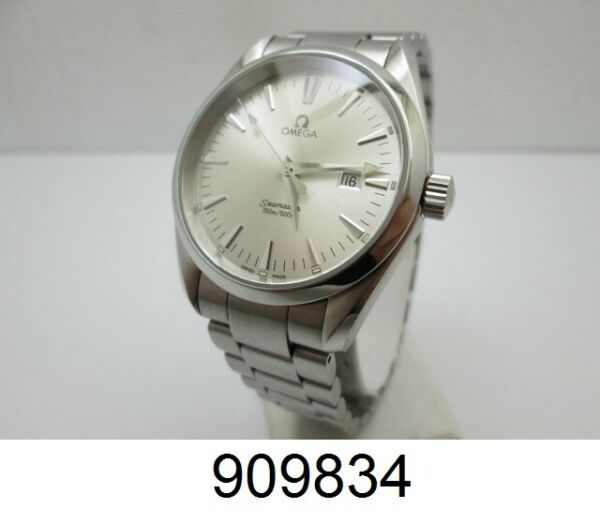 Omega Men's Seamaster Aqua Terra Stainless Watch 2518.30.00 39 mm Silver Dial