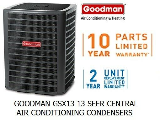 Goodman 2.5 ton package