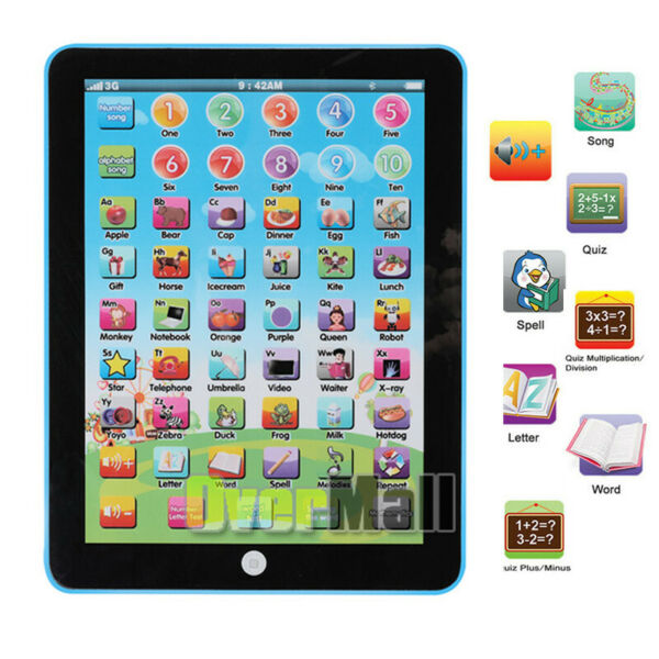 Educational Toys Baby Tablet For 1 6 year old Boy Girl Learning amp; Playing Gift