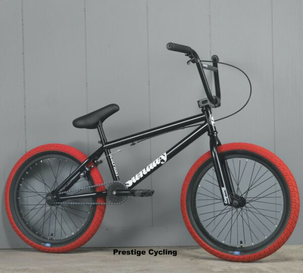 2021 SUNDAY BMX BLUEPRINT 20quot; BICYCLE GLOSS BLACK RED $339.95