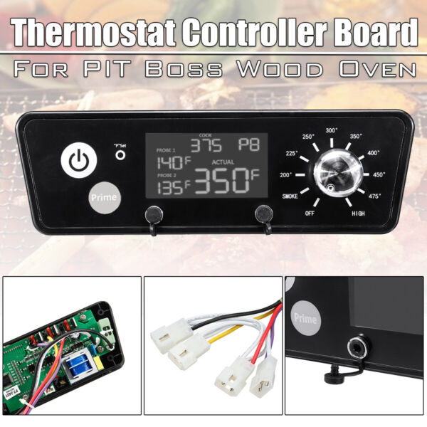 BBQ Digital Thermostat Control Board For Pit Boss Wood Oven Grills W LCD $32.80