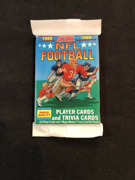 1989 Score Football Pack From Box 🔥 Barry Sanders Rookie Troy Aikman RC PSA 10?