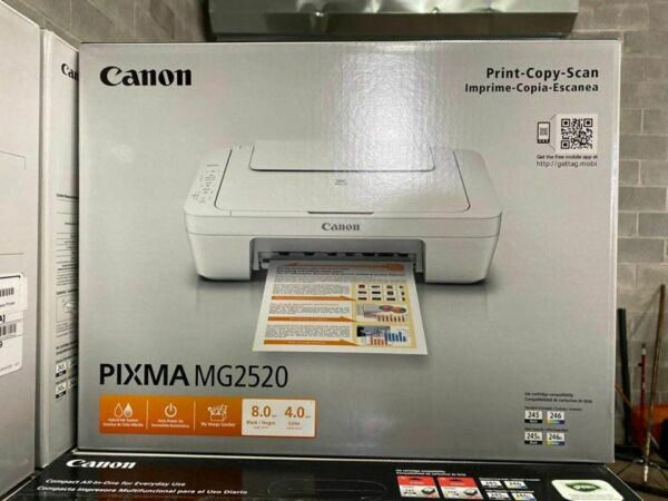 Canon Pixma MG2520 All in one Inkjet Printer INK NOT INCLUDED