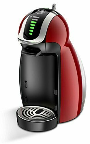 Nescafe MD9771 WR Dolce Gusto Genio 2 Premium Wine Red Fast Shipping Japan EMS