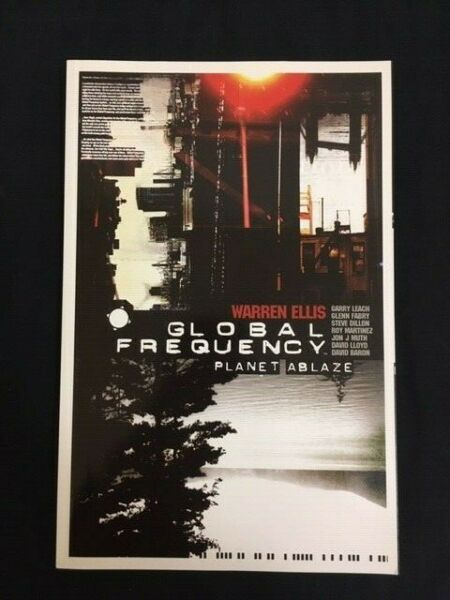 Global Frequency complete graphic novel set of 2 Warren Ellis Brian Wood DC 2004