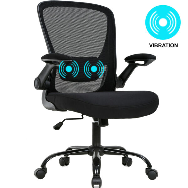 Office Chair Ergonomic Desk Chair Mesh Computer Chair Swivel Rolling Mid Back