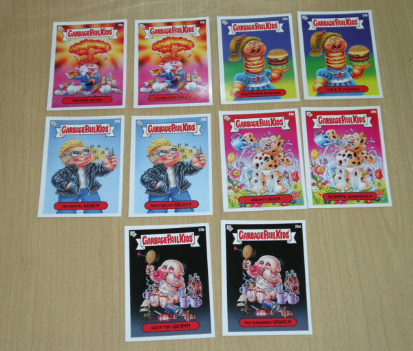 2020 Topps Garbage Pail Kids GPK Bizarre Holidays 10-card set week 4 May 21a-25b