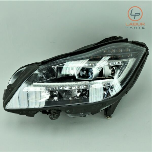 +H299 W218 MERCEDES 12-14 CLS CLASS FRONT LEFT DRIVER SIDE HEADLIGHT XENON HID