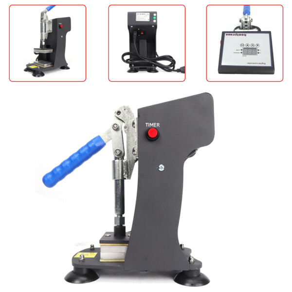 Rosin Heat Press Machine Dual Heating Elements Solventless Oil Extraction 3
